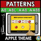 FALL BOOM CARDS SEPTEMBER MATH CENTER (PATTERNING APPLES A