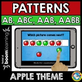 APPLE BOOM CARDS SEPTEMBER MATH CENTER (PATTERNING FALL AC