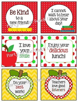 FALL BUNDLE  Lunchbox Notes, Jokes, & Bottle Wraps  {Discount!}