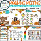 FALL - Bitmoji Interactive Morning Meeting