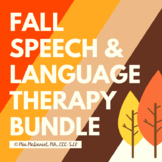 FALL Bundle for Speech & Language Therapy