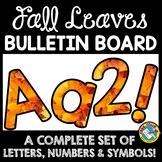 FALL CLASSROOM DECORATION (FALL BULLETIN BOARD LETTERS PRINTABLE)