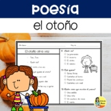 FALL COMPREHENSION POEMS IN SPANISH - POESÍAS DEL OTOÑO