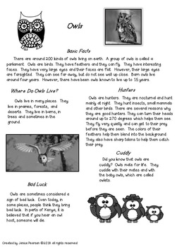 FALL . Close Reading Fiction and Informational Text 2nd Grade