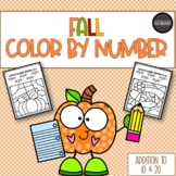FALL Color by Addition to 10 & 20