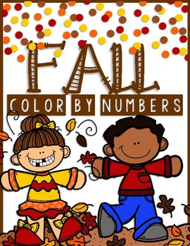 FALL Color by Numbers and MORE!
