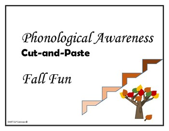 FALL - Cut-and-Paste Words, Syllables, & Sounds - Phonological Awareness