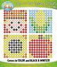 FALL Dab-A-Dot Mystery Images Clipart {Zip-A-Dee-Doo-Dah Designs}