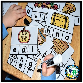 FALL Early Learners Math & Literacy Activity Centers {LEVEL A}
