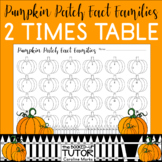 {FACT FAMILY MULTIPLICATION} {FALL MATH CENTERS} {MULTIPLICATION WORKSHEETS}