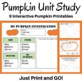 FALL FREEBIE! Pumpkin Mini Unit for PreK-K!