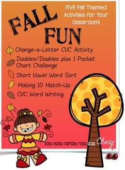 FALL FUN 5 Fall-tastic Activity Centers