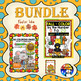 FALL FUN COLORING PAGES AND COLOR BY NUMBER & LETTER(71 PAGES) - BUNDLE