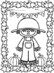 FALL FUN - COLORING PAGES FOR PRE-K AND KINDERGARTEN - 25 PAGES