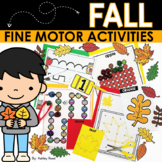 FALL Fine Motor Activities Packet