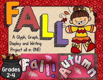 FALL Glyphs~Graphs~and More! {Grades 2-4}