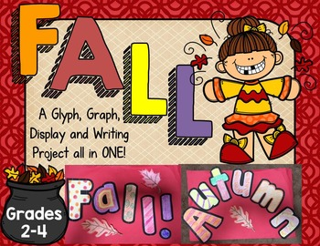 FALL Glyphs~Graphs~and More! {Grades 2-4}