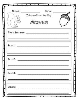 FALL Informational Writing Bundle