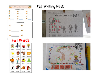 FALL Kid-Friendly Writing Pack