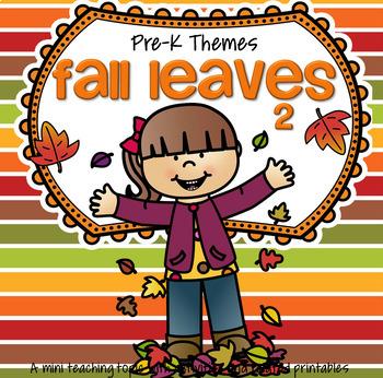 FALL LEAVES 2 Preschool
