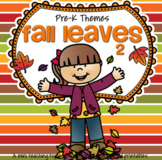 FALL LEAVES Math and Literacy Activities, Centers and Printables for Preschool