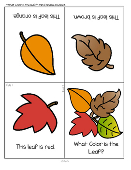 FALL LEAVES Activities and Centers for Preschool and Pre-K