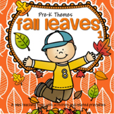 FALL LEAVES Literacy and Math Activities and Centers for P