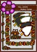 FALL, LEAVES - borders, frames Digital Clipart (color and