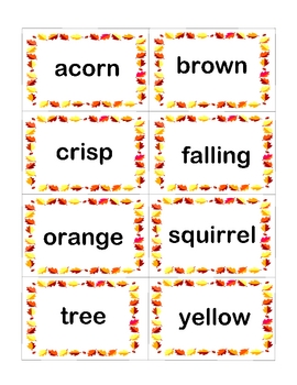 FALL LEAVES literacy and math extension activities