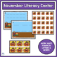 FALL LITERACY CENTER - ABC ORDER