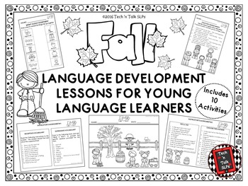 FALL Language Development Lessons for Young Language Learners