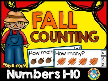 FALL MATH ACTIVITIES: FALL COUNTING CENTER: AUTUMN COUNTING ACTIVITY (1-10)