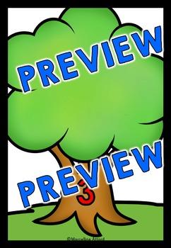 APPLES KINDERGARTEN ACTIVITY (FALL CENTER PRESCHOOL) SEPTEMBER NUMBER SENSE 1-10