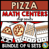 PIZZA MATH CENTERS KINDERGARTEN (COUNTING TO 10 AND SHAPE