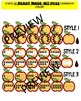 FALL MATH CLIPART GRAPHICS-APPLES TEN FRAMES- COMMERICAL USE