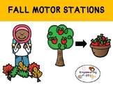 FALL MOTOR STATIONS / PATHWAY for strength / self regulation .... OT SPED