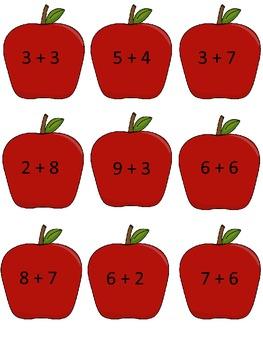 FALL Math Addition Sort