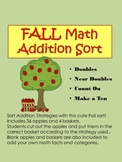 FALL Math Addition Sort
