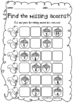 FALL Math & Literacy Worksheets (Kindergarten)