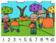 FALL Number Sequencing Puzzles, numbers 1-120