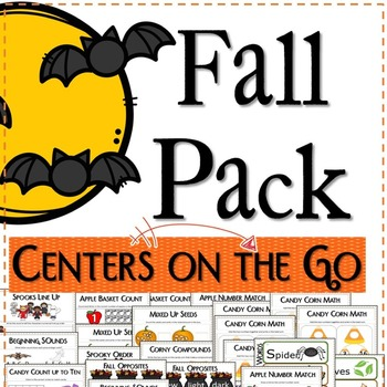 FALL PACK - Centers On The Go