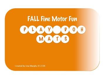 FALL Play-Doh Mats