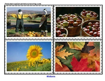 FALL Math and Literacy Centers and Activities for Preschool and Pre-K