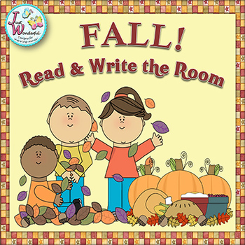 FALL Write the Room Fall Literacy Activites