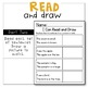 FALL Reading Comprehension Skills - Read and Draw [I Can Read]