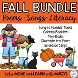 Fall  Literacy Songs, Chants, Poems and Finger plays