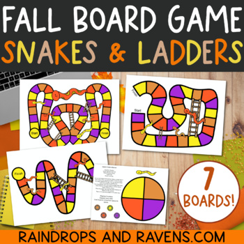 FALL Snakes & Ladders Board Games