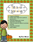 Spanish/ Español, Alphabet Tracing, Poster and Handwriting
