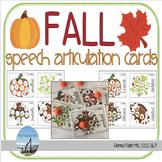 FALL Speech Articulation Cards