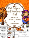 FALL Subject and Predicate Sort